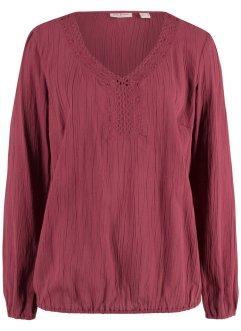 51bdf3d71e9199 Rote Blusen für einen atemberaubenden Look