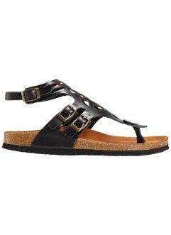 d46932c74bd394 Schwarze Sandalen von bonprix - Luftig leicht und stylisch