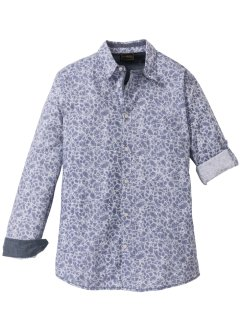 Langarmhemd floral Slim Fit, bpc selection