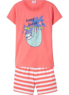Bio-Shorty-Pyjama (2-tlg. Set), bpc bonprix collection