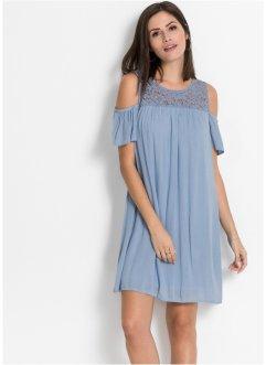 68254f8699d8cf Kleid mit Spitze und Cold-Shoulder