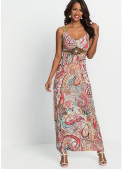 Sommerkleid mit Print und Applikationen, BODYFLIRT boutique