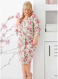 93b8feb73a4387 Maite Kelly Kleid mit Kimono - Ärmel, bpc bonprix collection