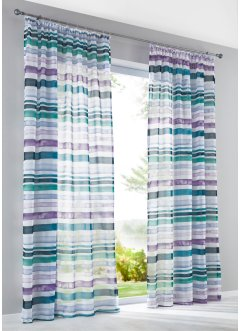 "Gardine ""Stripy"" (1er-Pack), bpc living"