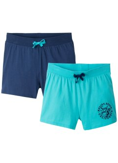 Mädchen Shorts (2er-Pack), bpc bonprix collection