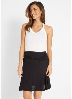 f27aa033e02d0a Geschmackvolles Strandkleid in Shirt- und Rockoptik