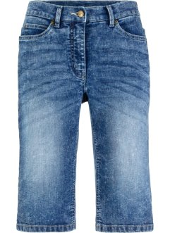 Stretch-Jeansshorts im Used-Look, bpc bonprix collection