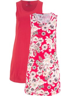 Jerseykleid (2er-Pack), bpc bonprix collection