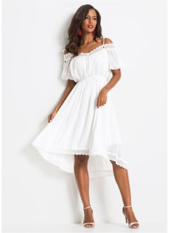 Cold-Shoulder-Kleid mit Spitze, BODYFLIRT boutique