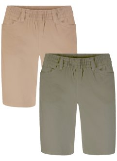 Stretch-Shorts (2er-Pack), bpc bonprix collection