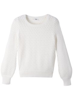 Leichter Strickpullover mit Struktur, bpc bonprix collection
