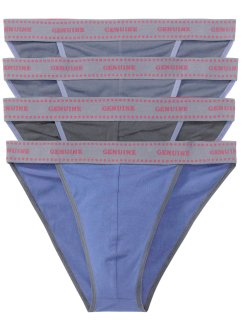 Tanga Slip (4er-Pack), bpc bonprix collection