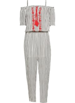 Jumpsuit mit Stickerei, BODYFLIRT
