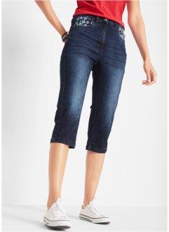 ba2b83753af0dc Capri-Jeans mit gemusterten Tascheneinsätzen, bpc bonprix collection