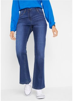 Stretch-Jeans mit Bequembund, Bootcut, bpc bonprix collection