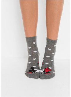 Kurzsocken Mickey Mouse (3er-Pack), Disney