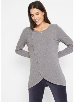Longshirt mit Knöpfen, bpc bonprix collection