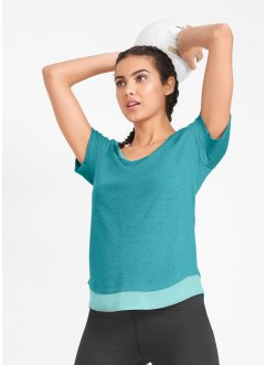 Sport-Shirt, 2 in1-Optik, kurzarm, bpc bonprix collection