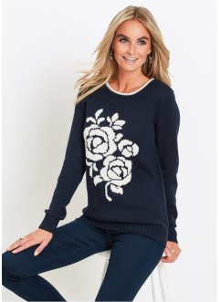 Pullover mit Jacquard, bpc selection