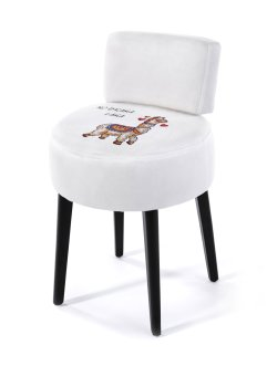 Hocker mit Lama Druck, bpc living bonprix collection