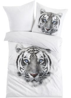 Wendebettwäsche mit Tiger Motiv, bpc living bonprix collection