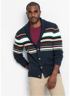 Strickjacke mit Schalkragen, bpc bonprix collection