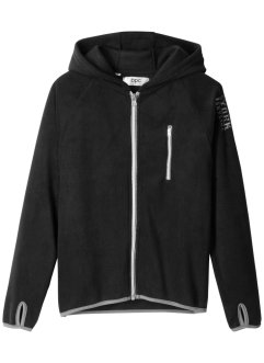 Fleecejacke mit Kontrastdetails, bpc bonprix collection