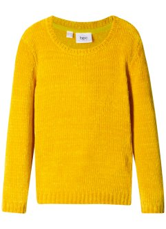 Chenille-Strickpullover, bpc bonprix collection