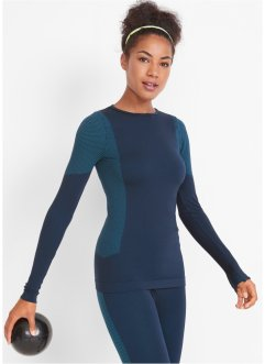 Funktions-Sport-Shirt, seamless, langarm, bpc bonprix collection