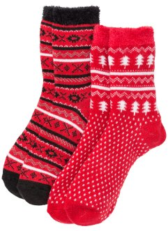 Thermo Kuschelsocken (2er-Pack), bpc bonprix collection