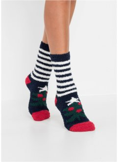 Kuschelsocken Weihnachten (4er Pack), bpc bonprix collection