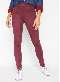 Leggings in Velouroptik, John Baner JEANSWEAR