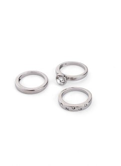 Ringe im 3-teiligen Set, bpc bonprix collection