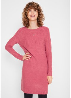 Strickkleid mit Rippdetail, bpc bonprix collection
