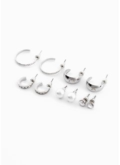 Ohrsteckerset (10-tlg.Set), bpc bonprix collection