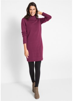 Long-Pullover mit Stehkragen, bpc bonprix collection