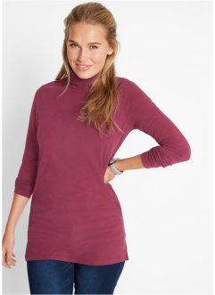 Stretch-Longshirt mit Rollkragen, Soft-Touch, bpc bonprix collection