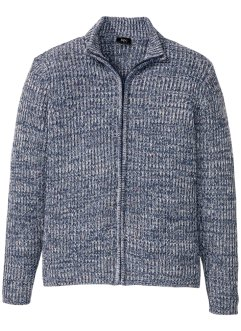 Strickjacke melierte Rippe, bpc bonprix collection
