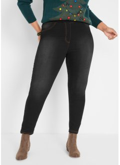 High Waist Jeggings mit Thermo-Stretch Funktion, bpc bonprix collection