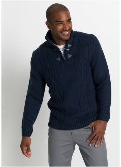Pullover mit Zopfmuster, bpc bonprix collection