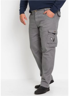Twill-Cargo-Hose Regular Fit, bpc bonprix collection