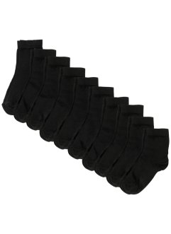 Kurzsocken Basic (10er Pack) mit Bio-Baumwolle, bpc bonprix collection