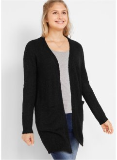 Bouclé-Longstrickjacke, bpc bonprix collection