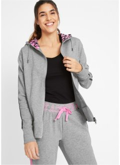 Bequeme Sweatjacke, langarm, bpc bonprix collection