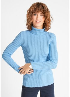 Strick-Rollkragenpullover, Recycled Baumwolle, bpc bonprix collection