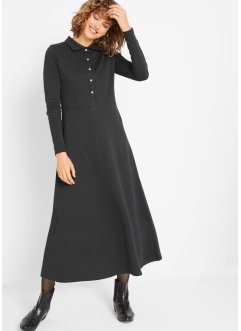 Kleid mit Knopfleiste, bpc bonprix collection