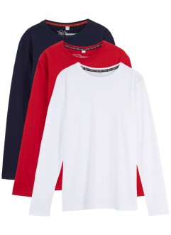Langarmshirt (3er-Pack), bpc bonprix collection