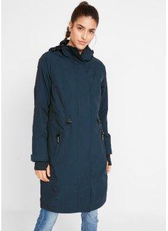 Warmer Daunenjacke Damen Mantel mit Pelz Kapuze Figurbetont