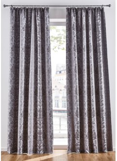 Jacquard Verdunkelungsvorhang (1er Pack), bpc living bonprix collection