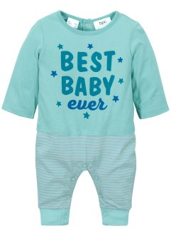 Baby 2 in 1 Strampler mit Shirt (1er-Pack)  Bio-Baumwolle, bpc bonprix collection